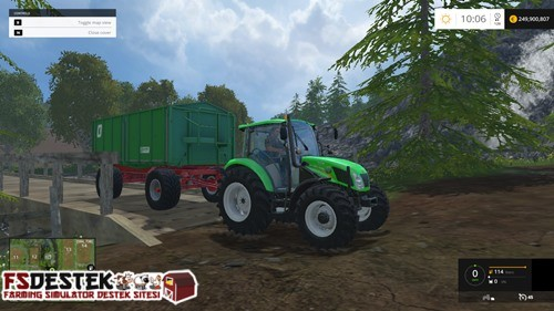 Photo of FS 2015 – New Holland 115 T4 Traktör