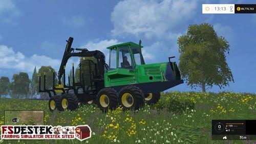 Photo of FS 2015 – John Deere 1110D Traktör