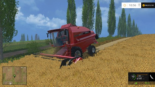 Photo of FS 2015 – Case IH CT 5060 Biçer Döver