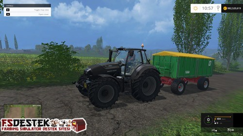 Photo of FS 2015 – Deutz-Fahr 7250 Siyah Traktör