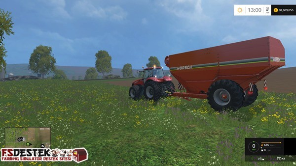 Photo of FS 2015 – Horsch Titan 34 Römork
