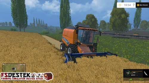 Photo of FS 2015 – New Holland TC5.90 Biçer Döver