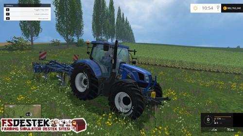 Photo of FS 2015 – New Holland T6.175 Traktör