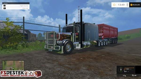 Photo of FS 2015 – Peterbilt 388 10×10 Amerikan Tırı