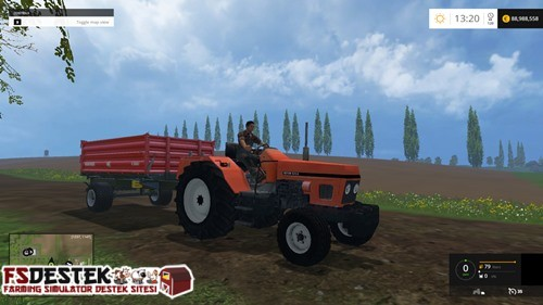 Photo of FS 2015 – Zetor 5211 Kabinsiz Traktör
