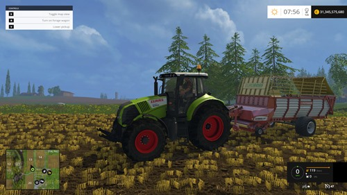 Photo of FS 2015 – Claas Axion 820 Traktör
