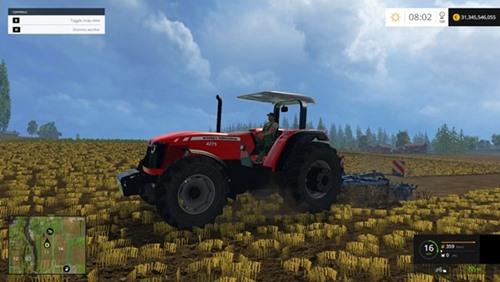 Photo of FS 2015 – Massey Ferguson 4275 Traktör