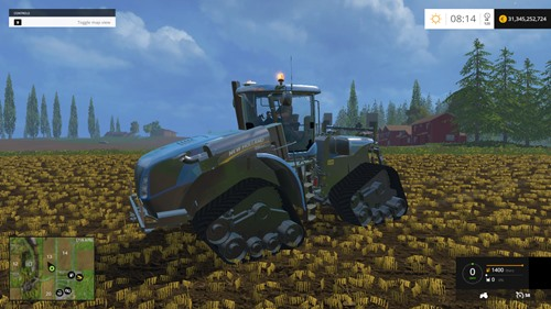 Photo of FS 2015 – New Holland T9.565ST Traktör Modu