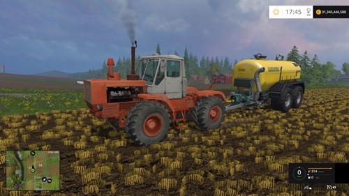 Traktör T-150 ve modifikasyonları 33