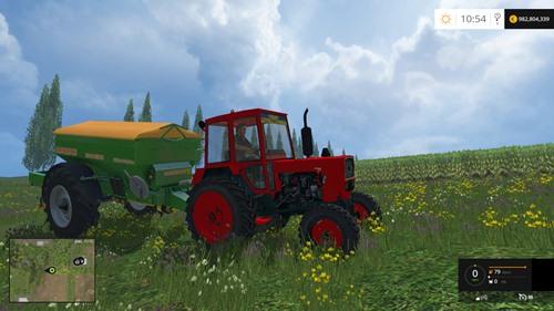 Photo of FS 2015 – UMZ 6KL Kırmızı Traktör