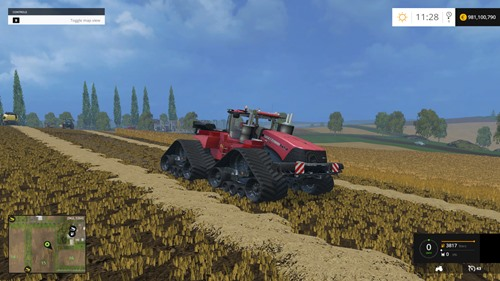 Photo of FS 2015 – Case IH Quadtrac 1450 Traktör