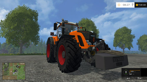 Photo of FS15 – Fendt 936 Vario Turuncu Traktör