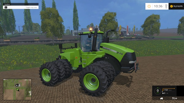 Photo of FS 2015 – Case IH Steiger 535 Yeşil Traktör