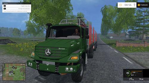 Photo of Mercedes-Benz Zetros Orman Kamyonu