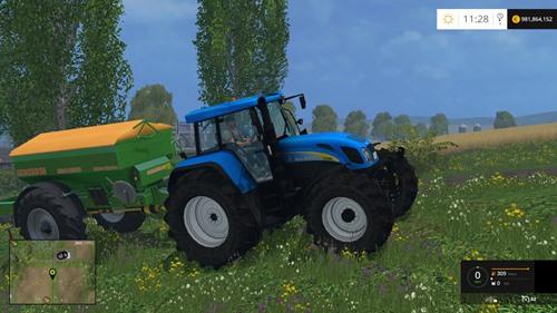 Photo of FS 2015 – New Holland T7550 Traktör