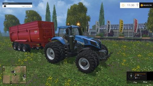 Photo of FS 2015 – New Holland T8435 DW Traktör