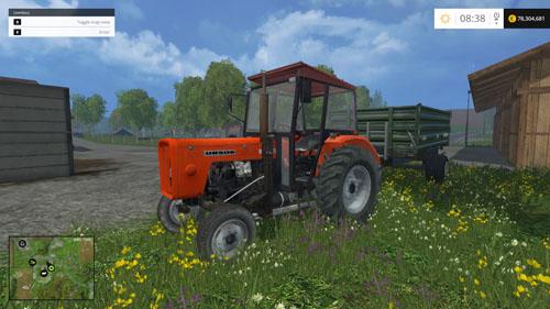 Photo of FS15 Ursus C360 ve Ursus C4011 Traktörleri