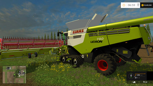 Photo of FS15 – Claas Lexion 780 Biçerdöver Paketi