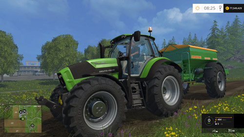 Photo of FS15 – Deutz Fahr 7210 TTV Traktör