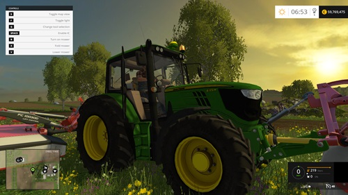 Photo of FS15 – John Deere 6125M Traktör