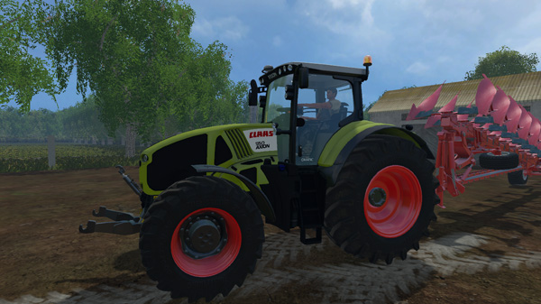 Photo of FS15 – Claas Axion 950