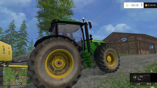 Photo of FS15 – John Deere 6170R v 2.2 Traktör