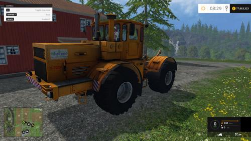 Photo of FS15 – Kirovets K-700 Traktör