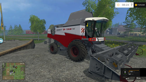 Photo of FS15 – Rostselmash Torum 740 Biçerdöver