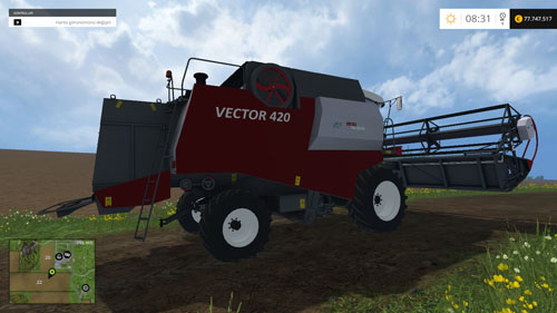 Photo of FS15 – Rostselmash Vector 420 Biçerdöver