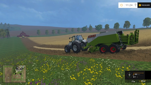 Photo of FS15 – Claas Quadrant 2200 V1.1