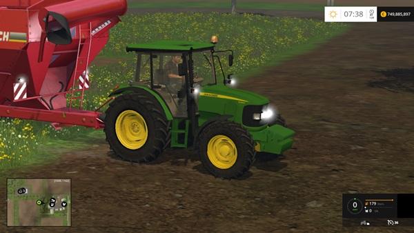 Photo of FS15 – John Deere 5080R Traktör