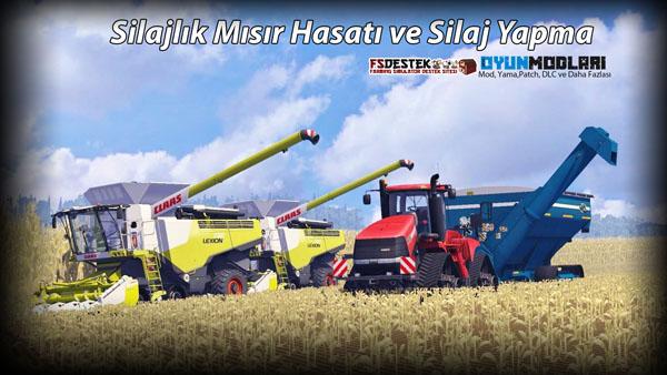 Photo of Farming Simulator 15 – Silajlık Mısır Biçimi ve Silaj Üretimi [Video]