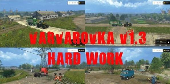 Photo of FS15 – Rusya Varvarovka Çiftlik Haritası V1.3