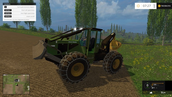 Photo of FS15 – John Deere 648G III Traktör Yaması