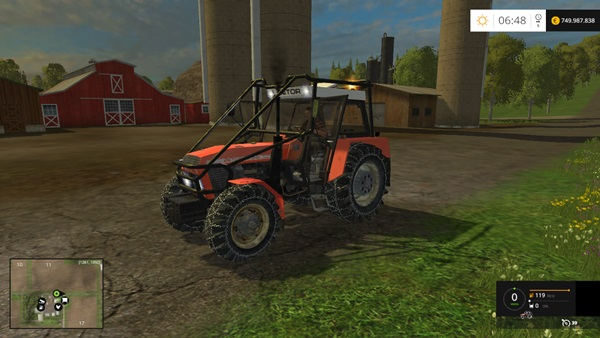 Photo of FS15 – Zetor 12145 Traktör