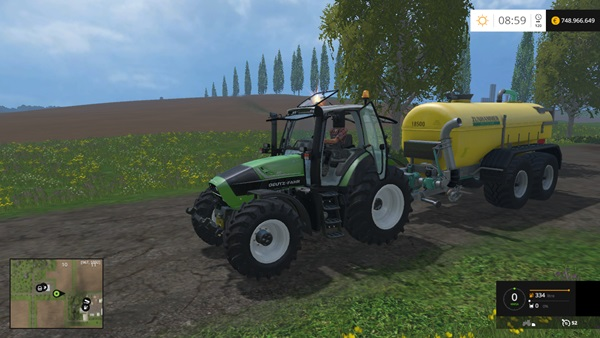 Photo of FS15 – Deutz-Fahr Agrotron 6190 TTV Traktör Modu V1.0