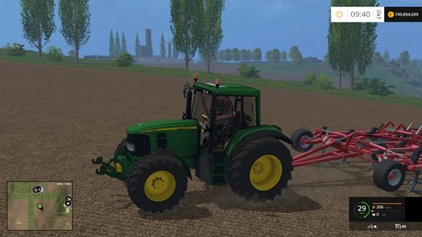 Photo of FS15 – John Deere 6620 Amerikan Traktör V2.0