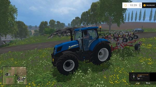 Photo of FS15 – New Holland T7.170 Traktör Yaması V2.0