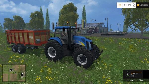 Photo of FS15 – New Holland TG 285 Traktör Yaması V2.0
