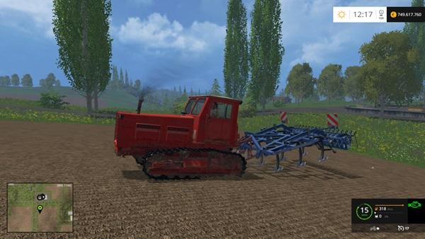 Photo of FS15 – T-4A Paletli Traktör Yaması V1.0