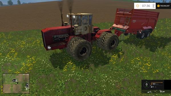 Photo of FS15 – Kirovets K-710 Traktör