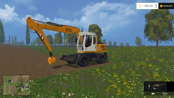Photo of FS15 – Liebherr 900C Ekskavatör Yaması