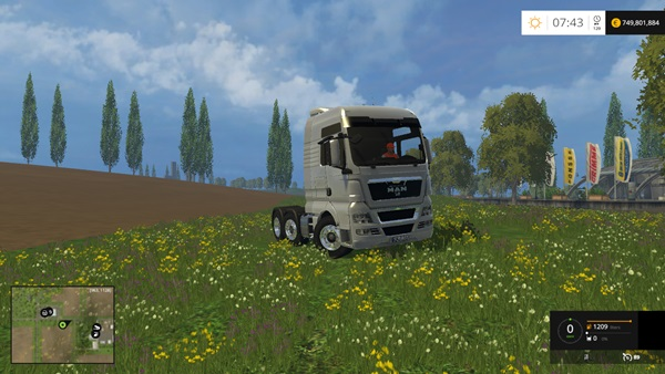 Photo of FS15 – Man TGX 18.680 Kamyon Modu