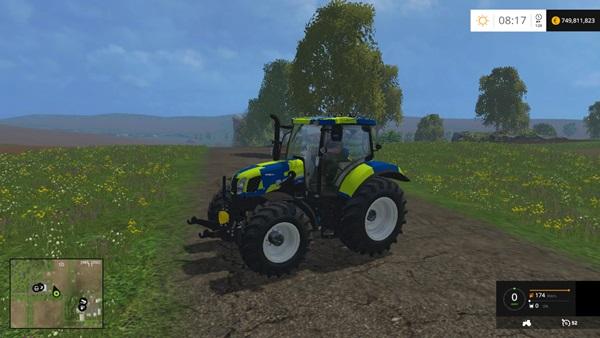 Photo of FS15 – New Holland T6.160 Polis Traktör Yaması V1.0
