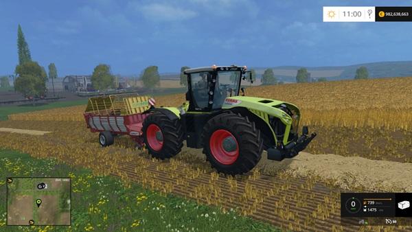 Photo of FS15 – Claas Xerion 4500 Traktör Yaması V2.5