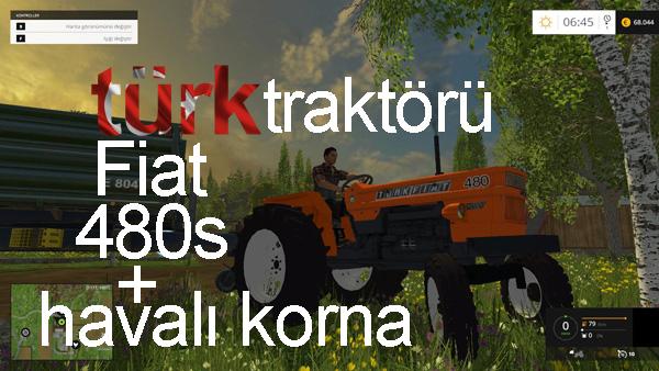 Photo of FS15 – TürkFiat 480 + Havalı Korna
