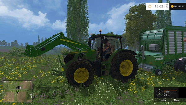 Photo of FS15 – John Deere 6170R Amerikan Traktör