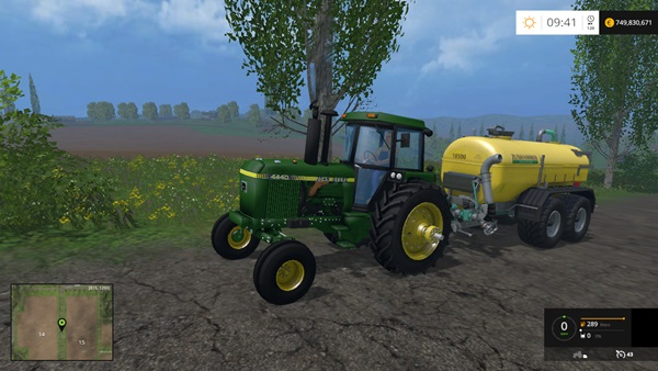 Photo of FS15 – John Deere 4440 Amerikan Traktör