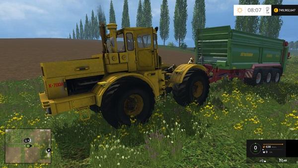 Photo of FS15 – Kirovets K700A Traktör Yaması V2.0