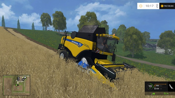 Photo of FS15 – New Holland CX7080 Biçer Döver Yaması